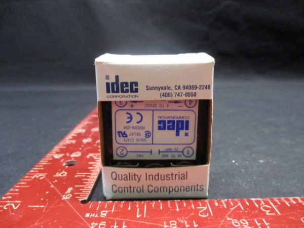 IDEC IZUMI CORP RSSDN-25A SOLID STATE RELAY 48 TO 660 VAC 25A