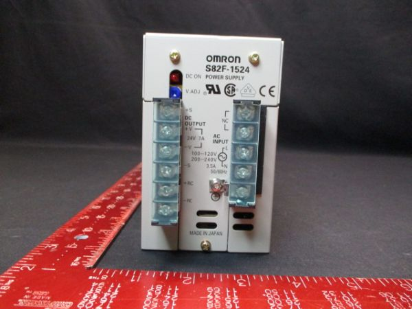 Omron S82F-1524 SUPPLY, POWER