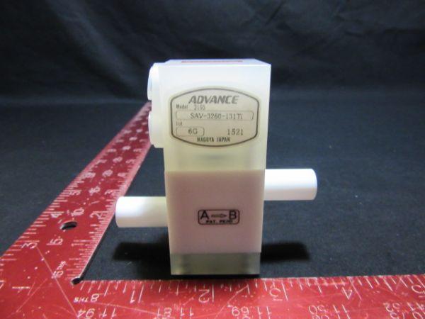 ADVANCE SAV-3260-131TI PNEUMATIC VALVE
