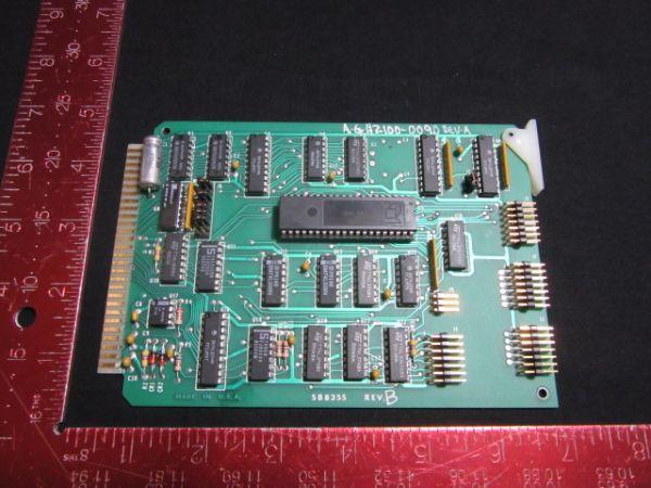 MICRO/SYS SB8355 AG ASSOCIATES 7100-2181-02 HEATPULSE 2100-0090 PCB TIMERCONT.
