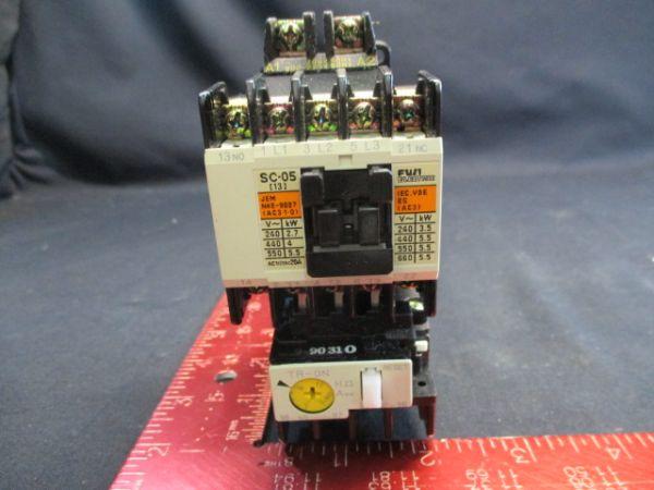 FUJI ELECTRIC SC-05 RELAY, ELECTRO