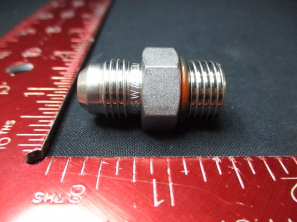 Applied Materials (AMAT) 910895 Swagelok SS-6-SAE-1-6AN FTG TBG Union 1/4