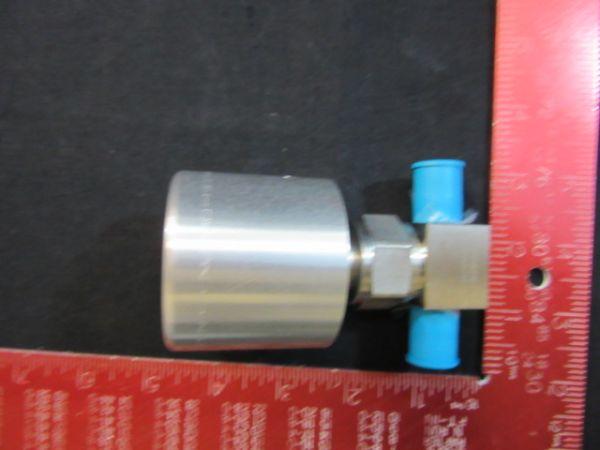 Swagelok SS-HBVCR4-0 HIGH PRESSURE BELLOWS-SEALED VALVE 1/4 VCR