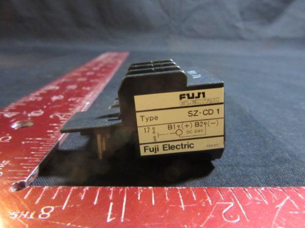 FUJI ELECTRIC SZ-CD1 RELAY ACCESSORIES COIL DRIVE UNIT FOR CONTACTOR