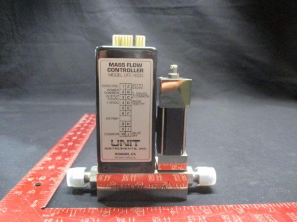 UNIT INSTRUMENTS UFC-1000 MASS FLOW CONTROLLER RANGE: 500SCCM GAS: N2