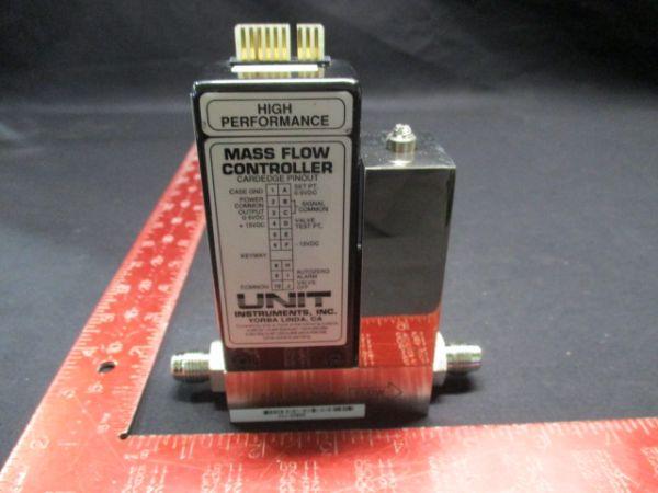 UNIT INSTRUMENTS UFC-1100A MASS FLOW CONTROLLER RANGE:10L GAS:N2