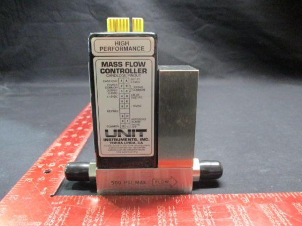 UNIT INSTRUMENTS UFC-1000 MASS FLOW CONTROLLER RANGE: 20 SLPM GAS: N2