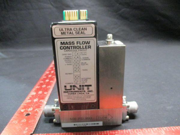 UNIT INSTRUMENTS UFC-1260A MASS FLOW CONTROLLER RANGE:10 SLM GAS:H2