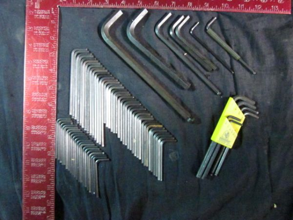 GENERIC VARIOUS SIZE ALLEN WRENCHES 21 18 41 964 3 14 764 6MM 2 716 732 316 532