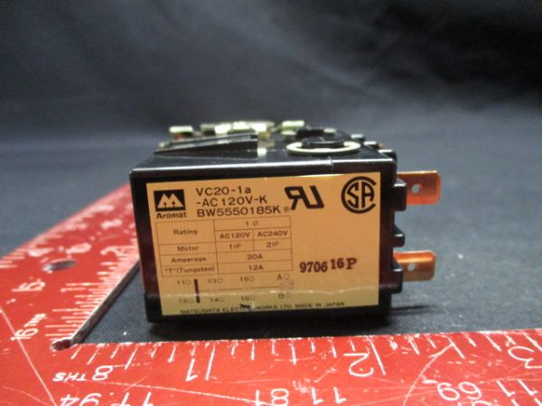 MINEBEA-MATSUSHITA VC20-1A-AC120V-K AROMAT RELAY