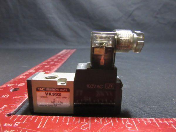 SMC VK332 SOLENOID VALVE PRESS 0~0.7MPa