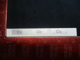Applied Materials (AMAT) 0060-35236   LABEL, CL2 (PACK OF 31)