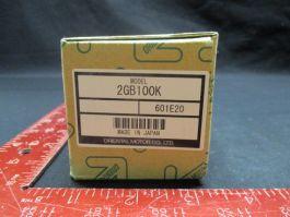 TOKYO ELECTRON (TEL) 040-000891-1 ORIENTAL MOTOR CO 2GB100K GEAR HEAD