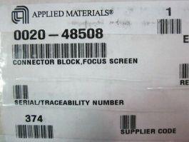 Applied Materials (AMAT) 0020-48508 Connector Block, Focus Screen