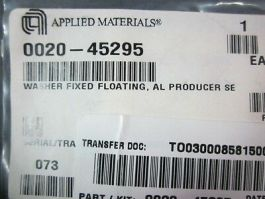 Applied Materials (AMAT) 0020-45295 Washer Fixed Floating, AL Producer SE
