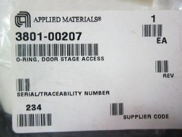 AMAT 3801-00207 O-Ring, Door Stage Access