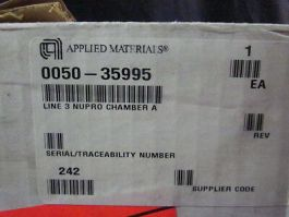 Applied Materials (AMAT) 0050-35995 Line 3 NUPRO Chamber A