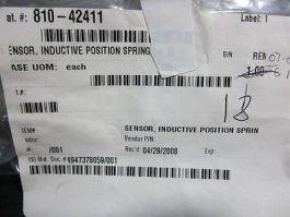 AXCELIS 118545 INDUCTIVE POSITION SPRING TIP SENSOR