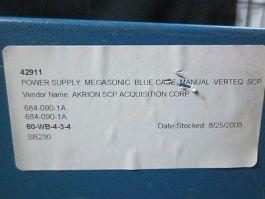 VERTEQ ST800-CC50-E2PX Power Supply Magasonic Blue Case Manual Verteq SCP, 120 V