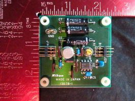 Nikon 13078-1 PCB