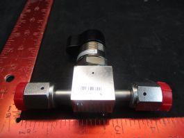 Applied Materials (AMAT) 3870-02823 VALVE MAN 1/4-TURN 2PORT 1/4VCR-F/F SST
