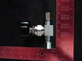 Fujikin FUDF716G6-35BPUP VALVE, HIGH PRESS MANUAL VALVE 316 SS