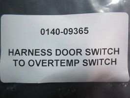 AMAT 0140-09365 Harness Door Switch to Overtemp Switch