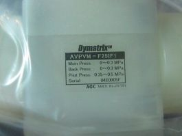 DYMATRIX AVPVM-F25IF1 VALVE, MANUAL PINCH AVPVM-F25IF1