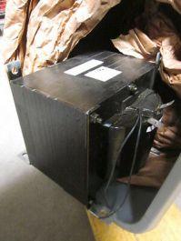Applied Materials (AMAT) 1360-00155 5 KVA Control Unit Transformer; 208V-PRI 120