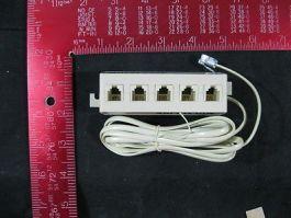 SPC SPC19783 SPC COMPLIANT MODULAR JUNCTION BOX, 5 OUTLETS, 11 INCH CORD