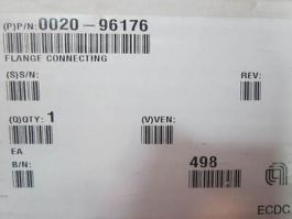 Applied Materials (AMAT) 0020-96176 FLANGE CONNECTING