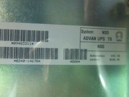 Applied Materials (AMAT) 0240-14678 KIT, OPTION, ADVANCED UPS WITH ROBOT X B