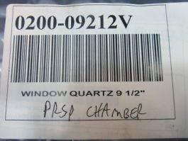 "Applied Materials (AMAT) 0200-09212 WINDOW.QUARTZ,9 1/2\"" PRSP CHAMBER"