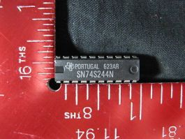 TEXAS INSTRUMENTS SN74S244N OCTAL BUFFERS AND LINE DRIVERS WITH 3-STATE OUTPUTS