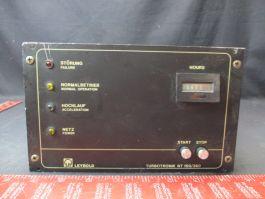 INFICON-LEYBOLD-OERLIKON 85472-3 TURBO PUMP CONTROLLER
