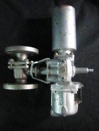 KITAMURA AG06S/E0600-31 VALVE 316 SS, BALL AIR actuated CYLINDER MODEL AG06S, VA