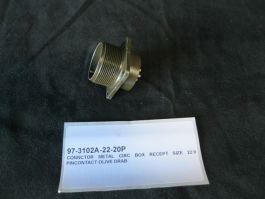 Amphenol Industrial 97-3102A-22-20P CONNECTOR