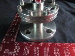 NIPPON SOKKI JIS10K25A-80-4 DIAPHRAGM PRESSURE GAUGE, 25A, 4MPA