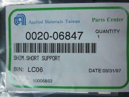 Applied Materials (AMAT) 0020-06847 Shim, Short Support