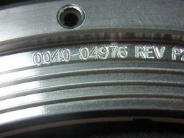 Applied Materials (AMAT) 0040-04976 Ring, SST/Ceramic 9.75 OD x 7.75 ID