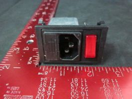 AMAT 0900-90019 Filter 6A IEC Switched & Fused, 250V~50/60Hz