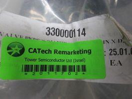CAT 330000014 GEMU VALVE B/FLY WAFER.D225/DN200 PVC.