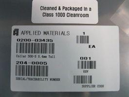 Applied Materials (AMAT) 0200-03435 COLLAR 300-5 5.4MM TALL