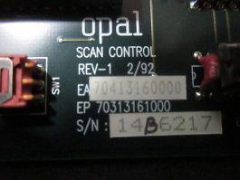 Opal 70413160000 BOARD ASSY  SCAN CONT.