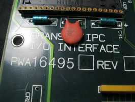BRANSON-IPC PWA1649501 PCB, I/O UBTERFACE