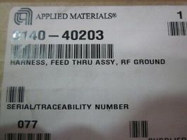 Applied Materials (AMAT) 0140-40203 Harness, Feed Thru Assembly, RF Ground