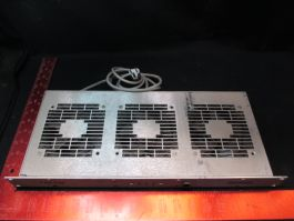 UNITRACK D299-857 FAN PAK, COOLING, RACKMOUNT (For Parts Only/Needs Repair)
