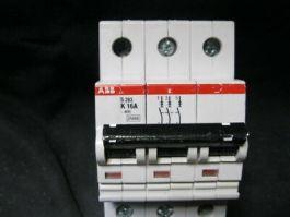 ABB S283-K 16A BREAKER, 6A 400V 3PL