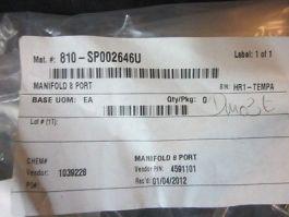 Varian 4591101 Mainfold 8 Port