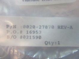 """Applied Materials (AMAT) 0020-27870 DISK, 5\"""" SMF SHUTTER, TITANIUM"""
